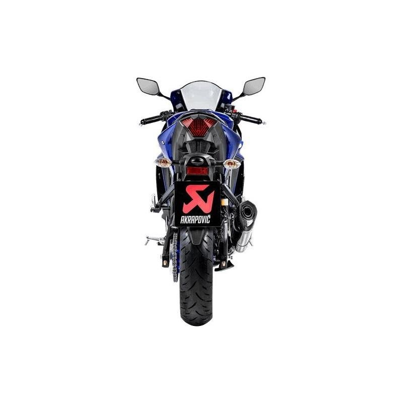 Silencieux Akrapovic Line carbone Yamaha YZF-R3 15-20 - 2