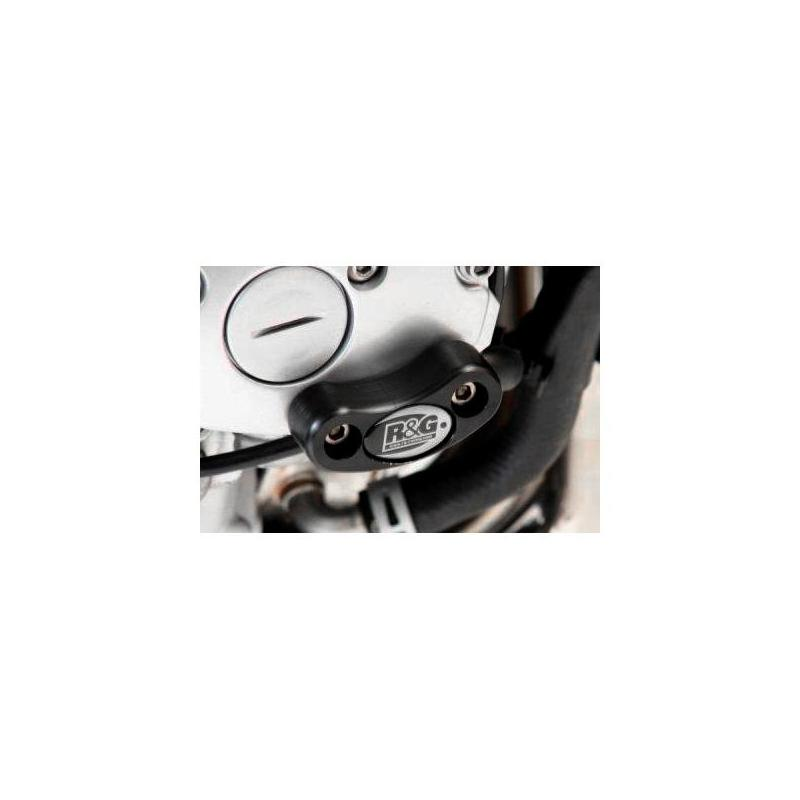 Slider moteur droit R&G Racing noir Yamaha FZ1 06-15