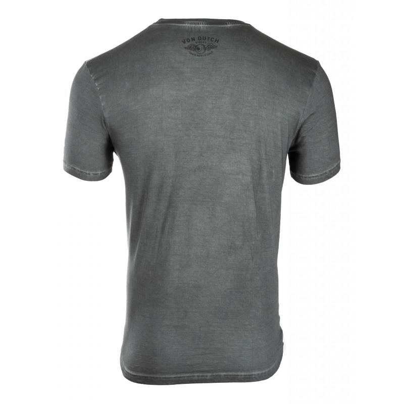 Tee-shirt Von Dutch Aaron'19 Gris - 1