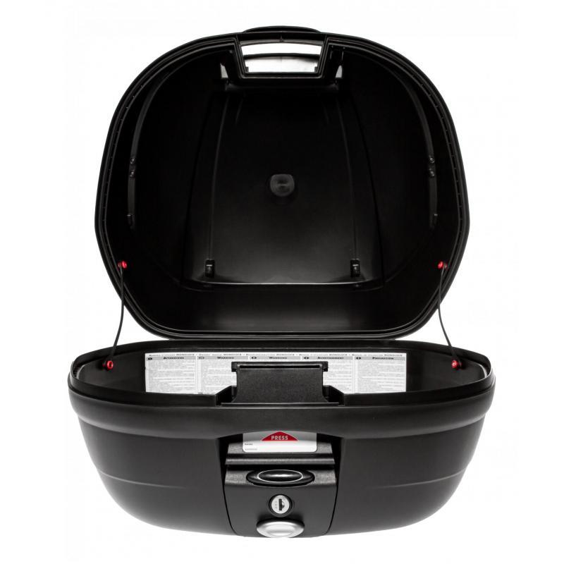 Top case Givi E370 monolock catadioptres fumés avec platine/kit fixation - 2