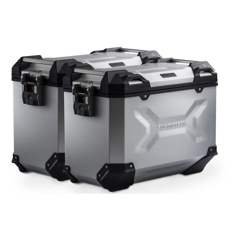 Valises latérales SW-MOTECH TRAX ADV alu 45L support PRO Honda NC 750 S/X 16-20