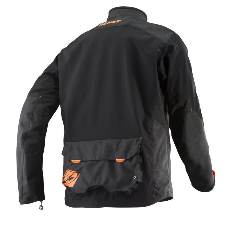 Veste enduro Kenny Dual Sport noir/orange - 1