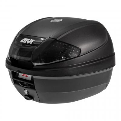 Top case Givi E300nt2 monolock catadioptres fumés avec platine/kit fixation