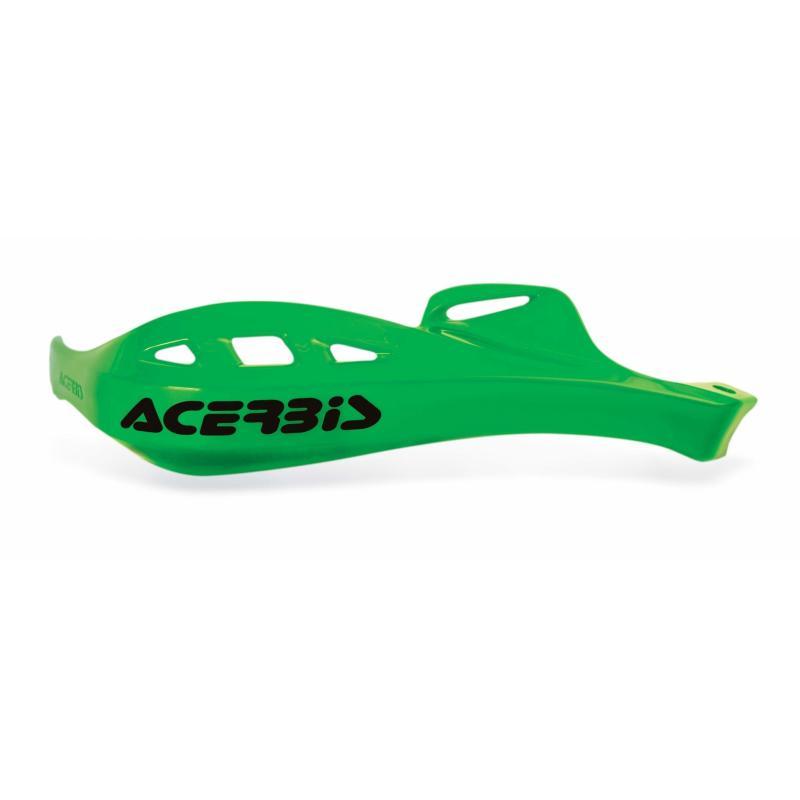 Plastiques de remplacement Acerbis pour protège-mains Rally Profile vert (paire)