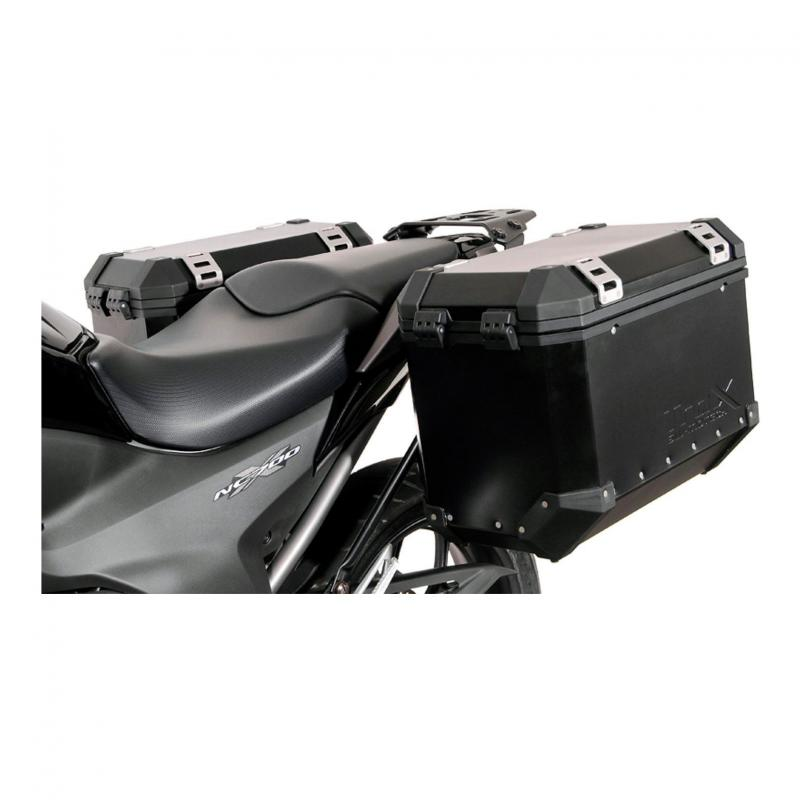 Support pour valise SW-MOTECH QUICK-LOCK EVO noir Honda NC700 S / X 11- NC750 S / X 14-15