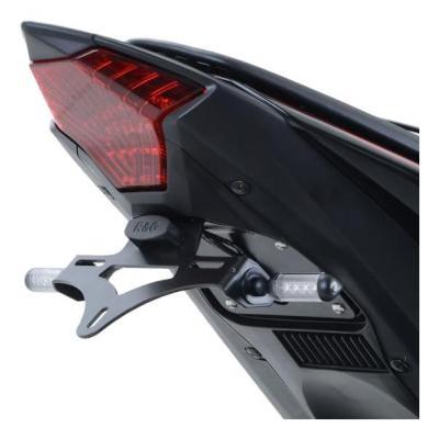 Support de plaque d'immatriculation R&G Racing noir Yamaha YZF-R3 15-