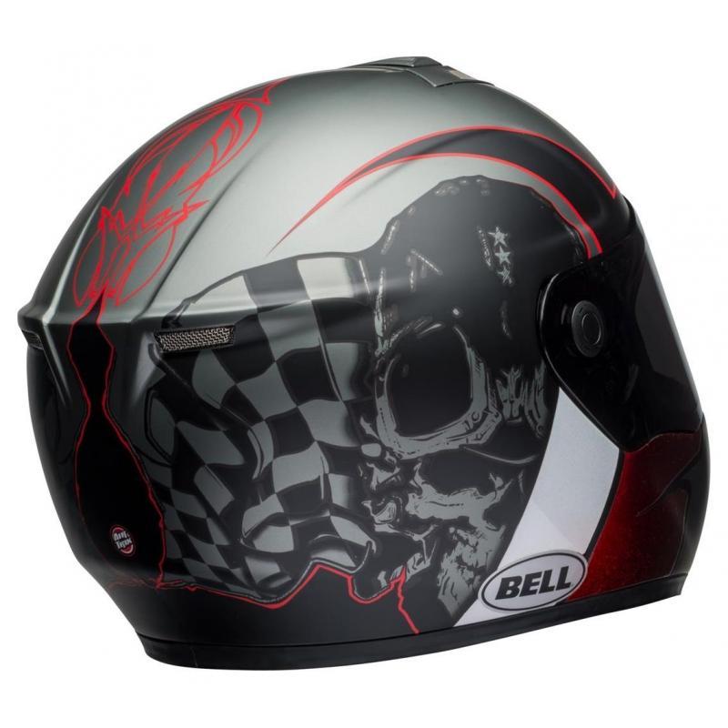 Casque intégral Bell SRT Hart-Luck Skull - 2