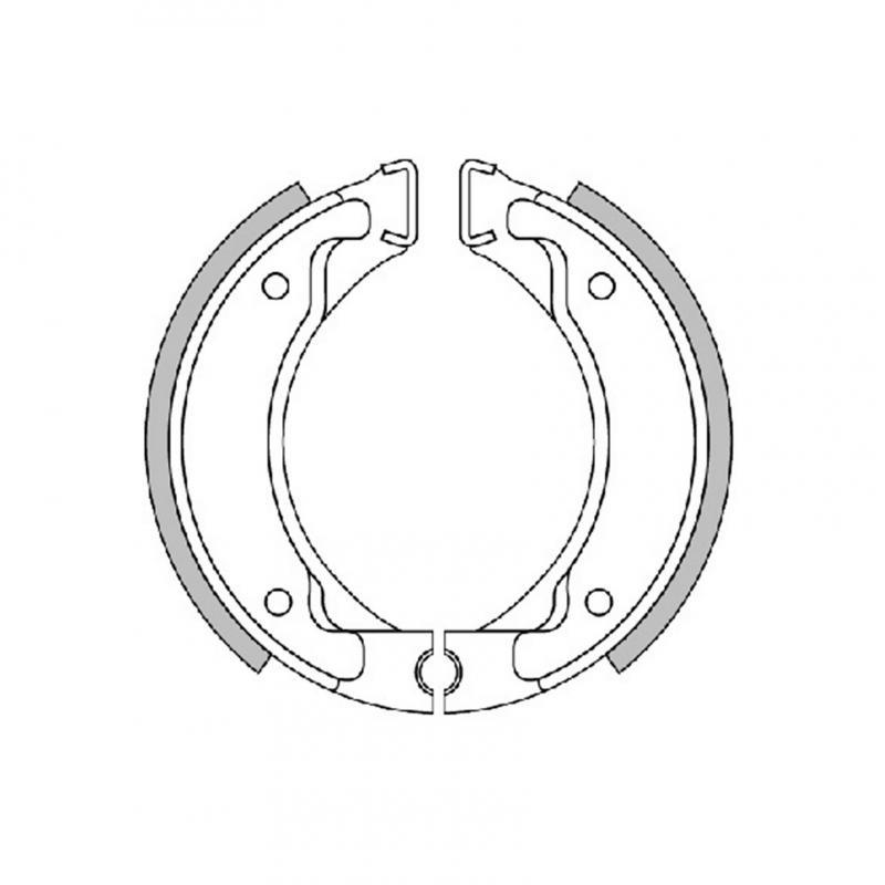 Mâchoires de frein Polini Original pour Booster/Flipper/BW's/Spy/Why - 1