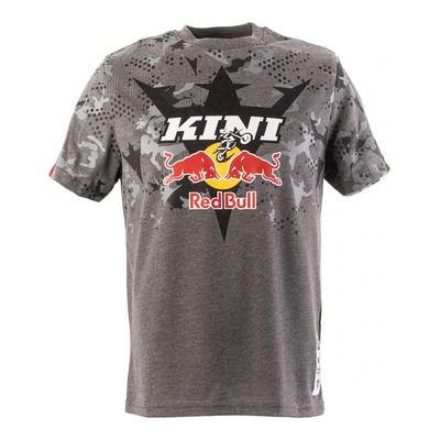 T-shirt Kini Red Bull Urban camouflage gris