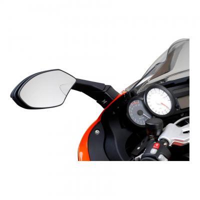 Extensions de rétroviseur SW-MOTECH Profile noir BMW K 1200 S / K 1300 S
