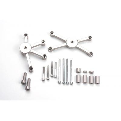 Kit fixation sur moteur pour tampon de protection LSL Suzuki GSX-R 600 06-10 avec perçage