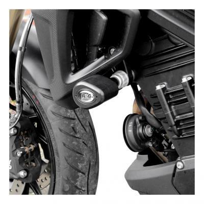 Tampons de protection R&G Racing Aero noir BMW F 800 R 15-18