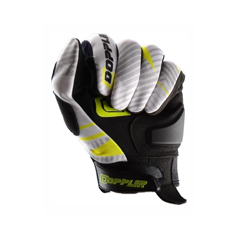 Gants cross Doppler blanc / jaune / noir - 2
