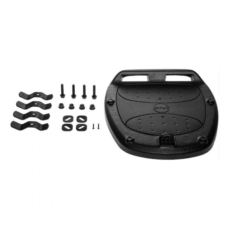 Top case Givi E370 monolock catadioptres fumés avec platine/kit fixation - 5