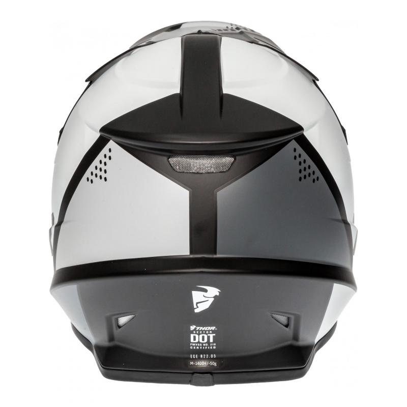 Casque cross Thor Sector Blade noir/blanc - 4