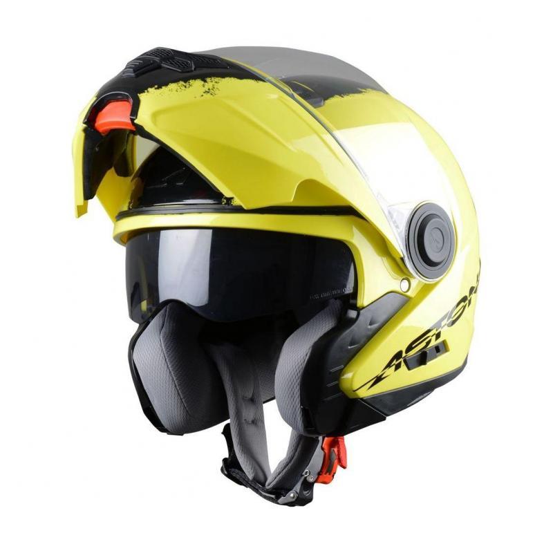 Casque Modulable Astone Rt800 Graphic Exclusive Neon jaune neon - 1