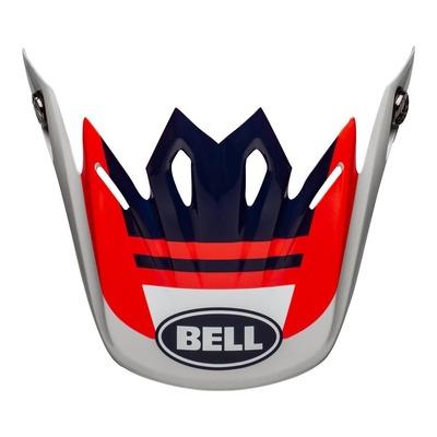 Casquette de casque cross Bell Moto-9 Flex Prophecy rouge/navy/gris brillant