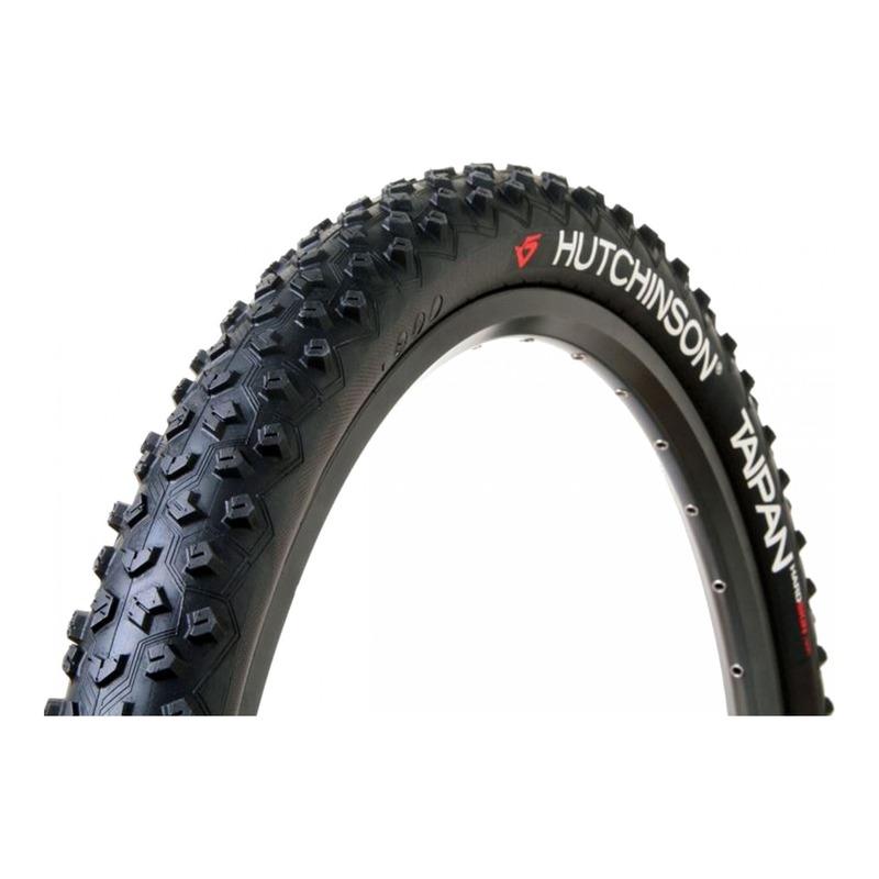 Pneu vélo VTT Hutchinson Taipan Tubeless TS noir (27,5''X2.10'')
