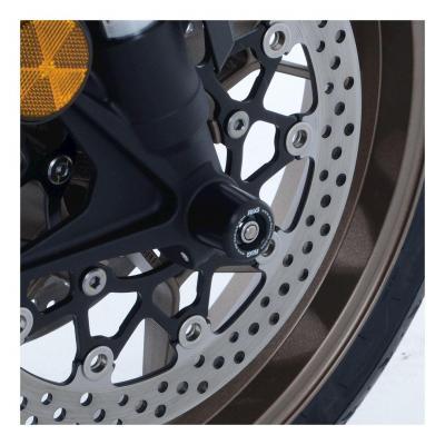 Tampons de protection de fourche R&G Racing noir Honda CB 650 R Neo Sport Cafe 19-20