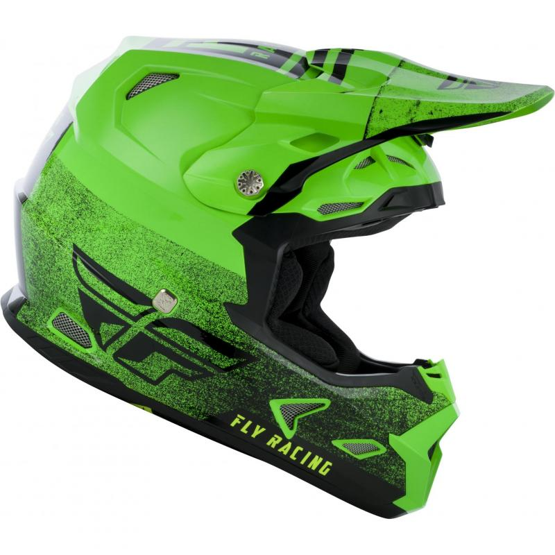 Casque cross Fly Racing Toxin Mips Embargo vert/noir - 1