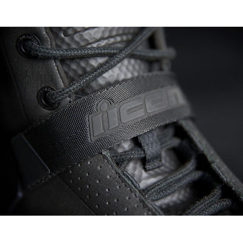 Chaussures moto Icon Superduty 5 noir - 3