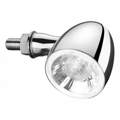 Clignotant LED Kellermann Bullet 1000 PL chromé avec veilleuse blanche