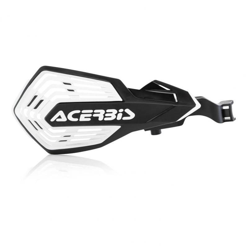 Protège-mains Acerbis K-Future Husqvarna 250 FC 14-20 noir/blanc