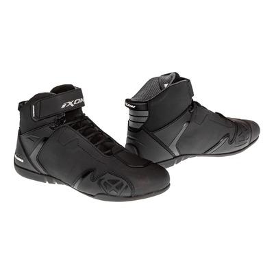 Basket moto Ixon Gambler WP noir