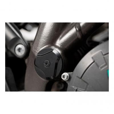Bouchons de cadre SW-MOTECH noir KTM 1050/1190/1290 Adventure