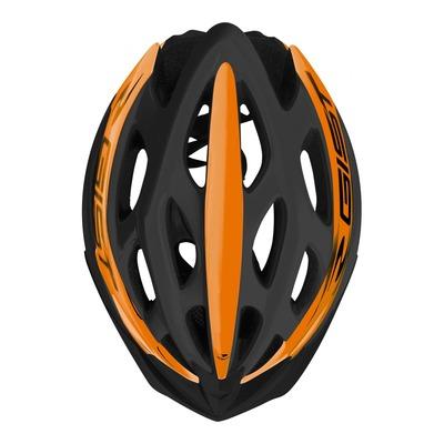 Caque vélo VTT/route/E-bike Gist Faster noir/orange