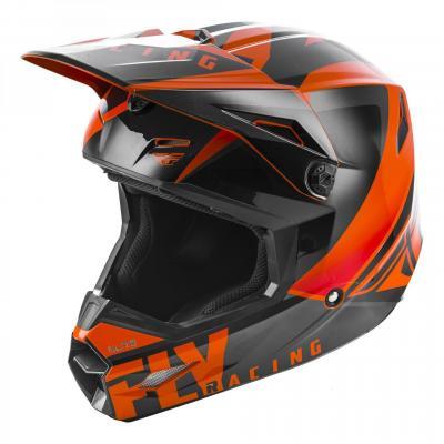 Casque cross enfant Fly Racing Elite Vigilant orange/noir