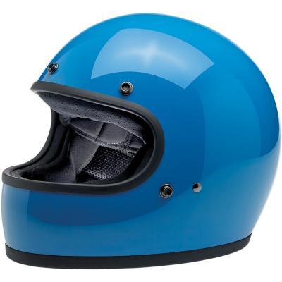 Casque intégral Biltwell Gringo brillant bleu