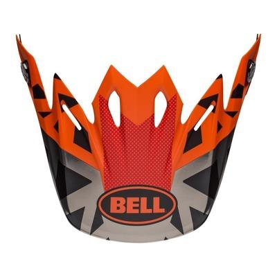 Casquette de casque cross Bell Moto-9 Tremor noir/orange/chrome