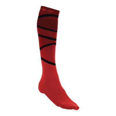 Chaussettes enfant Fly Racing MX Pro Thick rouge/noir