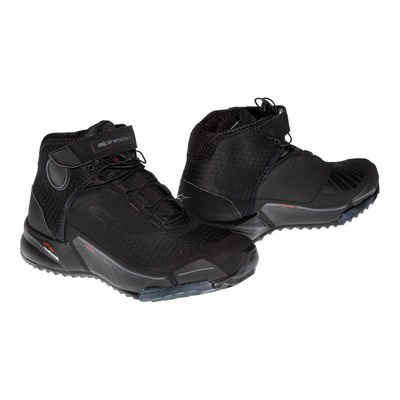 Chaussures moto Alpinestars CR-X Drystar® noir/noir