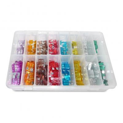 Coffret assortiment 240 fusibles plats/micro fusibles