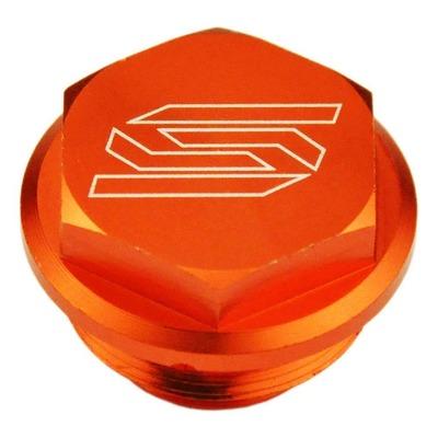 Couvercle de maître cylindre de frein arrière Scar aluminium anodisé orange pour KTM SX 125 04-16