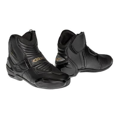 Demi-bottes femme Alpinestars STELLA SMX-1 R noir/or