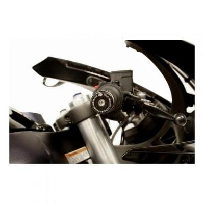 Embouts de guidon R&G Racing noir Buell 1125 R 08-10