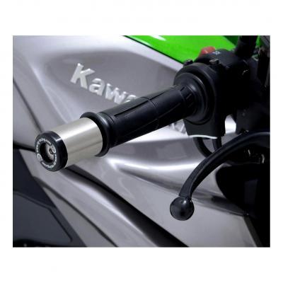 Embouts de guidon R&G Racing noir Kawasaki Z 1000 10-18
