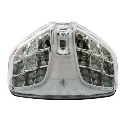 Feu arrière à LED avec clignotants intégrés pour Suzuki GSX-R 600 / 750 08-16