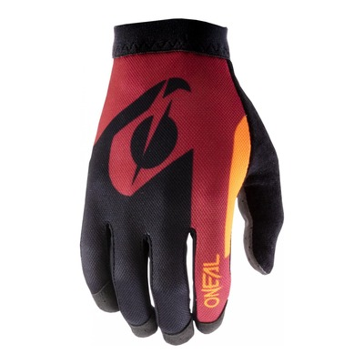 Gants cross O'Neal AMX Altitude rouge/orange