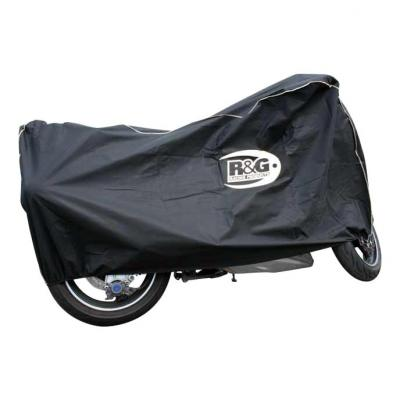 Housse moto d'intérieur R&G Racing noire universelle