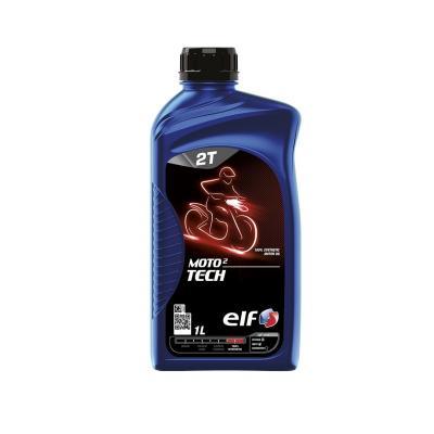 Huile moteur 2T ELF Moto 2 Tech 100% synthèse 1l
