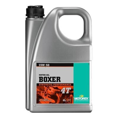 Huile moteur 4T Motorex Boxer 15W50 4L