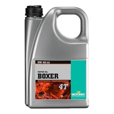 Huile moteur 4T Motorex Boxer 5W40 4L