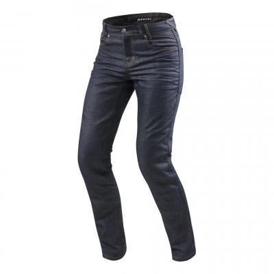 Jeans moto Rev'it Lombard 2 longueur 34 (standard) bleu foncé