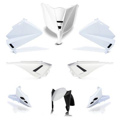 Kit carénage BCD avec LED / sans poignées / avec rétro Tmax 530 12-14 blanc