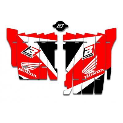 Kit déco de cache radiateur Blackbird Dream Graphic 3 Honda CRF 250R 18-20 rouge
