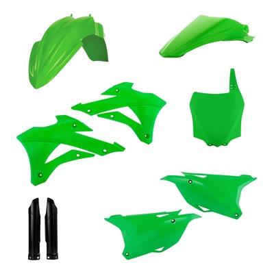 Kit plastiques complet Acerbis Kawasaki 85 KX 14-21 vert/blanc/noir